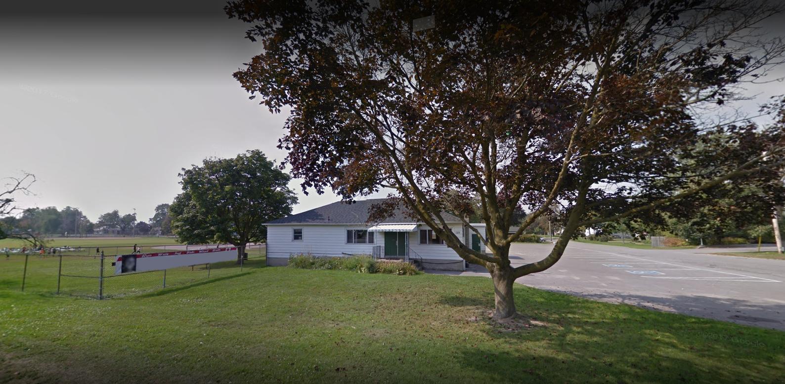Bowmanville Memorial Park Clubhouse exterior